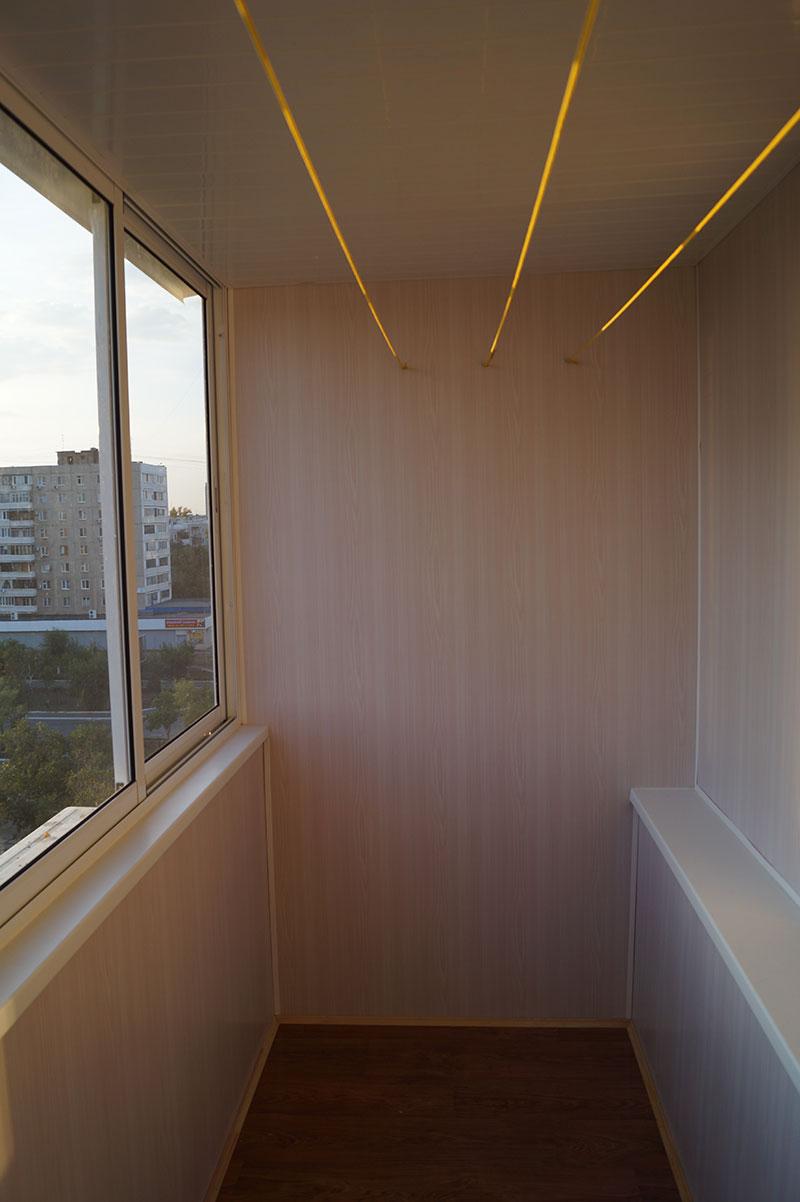Внутренняя отделка балкона: 5 материалов