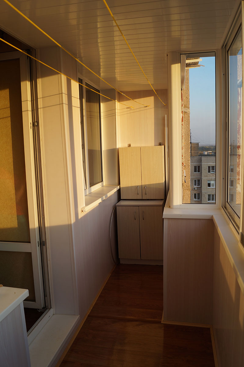 """Balkonoff внутренняя и внешняя отделка балконов компанией """"b."""